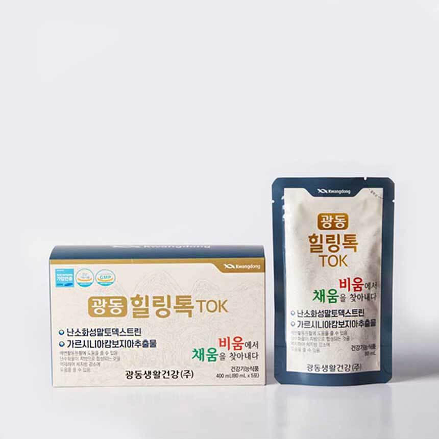 [광동] 힐링톡 80ml X 5포/1박스