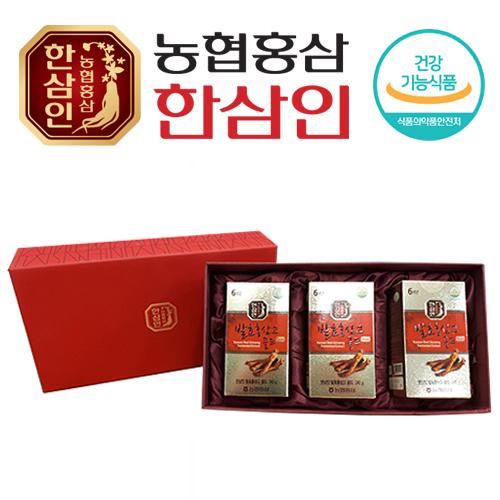 [농협 한삼인] 발효홍삼고골드 240g x 3병 + 쇼핑백