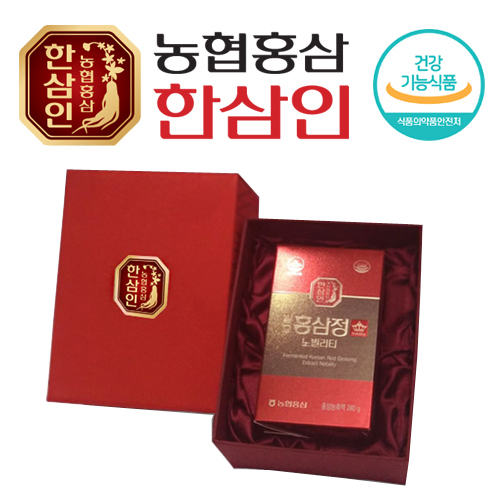 [농협 한삼인] 발효홍삼정 노빌리티 240g x 1병 - 100% 발효/홍삼농축액
