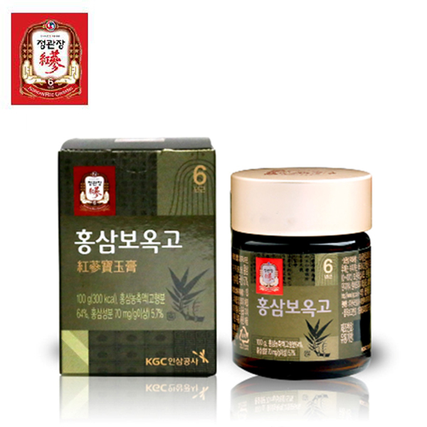 한국인삼공사 정관장 홍삼보옥고 100g x 1병 + 쇼핑백