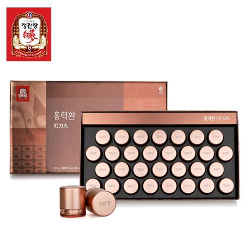 한국인삼공사 정관장 홍력환 3.75g x 30환 + 쇼핑백