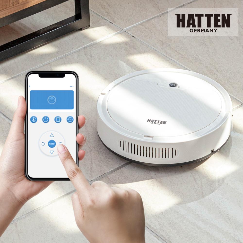 하텐 스마트 로봇청소기 DSG- HR-8001