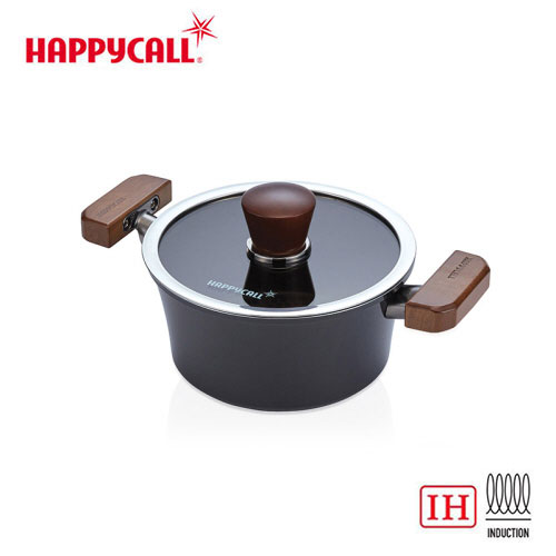 해피콜 그래핀 IH 냄비 양수 18cm / 품번 : 3003-1169-11