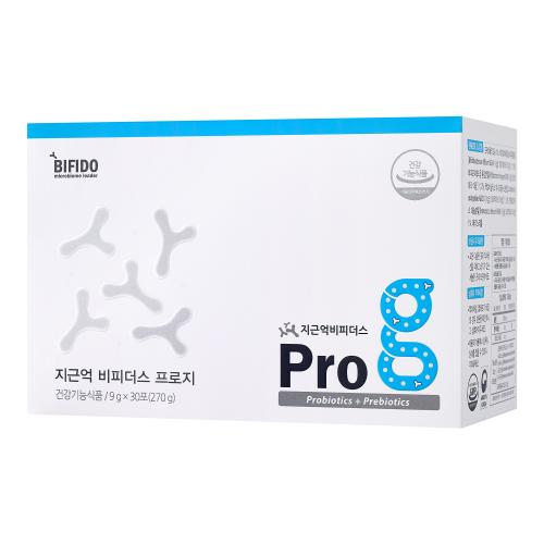 [지근억비피더스] 프로지 프로바이오틱스 유산균 - 배변활동원활/장건강/성인남여/임산부/직장인 (1박스 - 9g*30포)