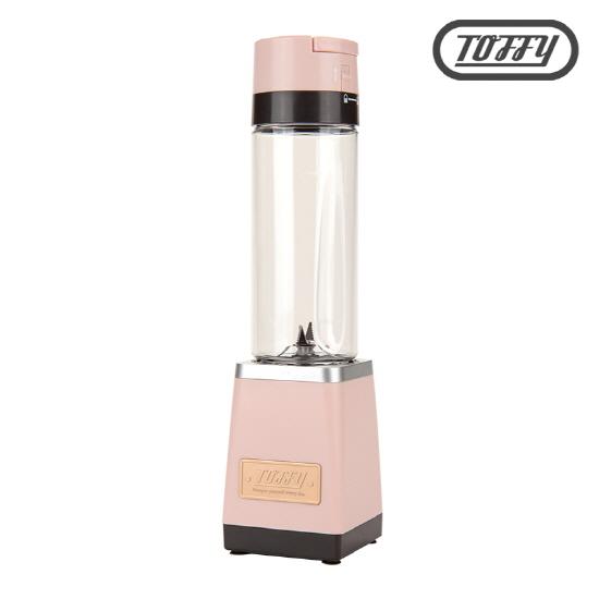 TOFFY(토피) 1인용 미니 진공블렌더 K-BD2-SP(핑크)