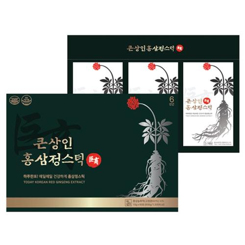 큰상인 홍삼정스틱 10g x 30포 + 쇼핑백